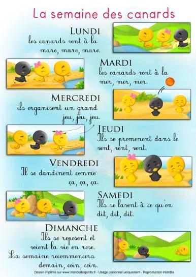 comptine-semaine-canard