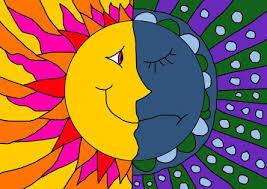 le soleill et la lune